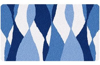Meusch Badteppich Loft Marineblau
