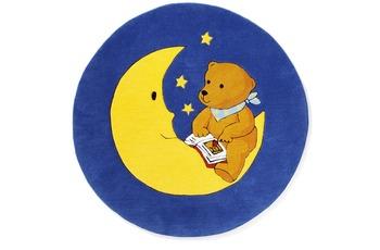 Mondbär 1337 blau 130 x 130 cm