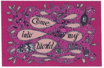 My life is sweet by Jill Come into my world rosa/ pink 49 x 74 cm