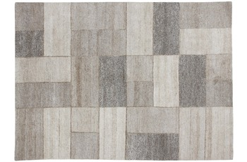Luxor Living Nepal Teppich, Nature Line, Hanf Center, beige