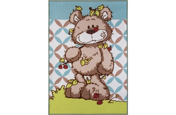 nici Teppich Nici, Lovely Bear, grün 100cm x 100cm