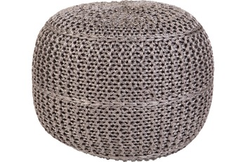 Obsession  POUF EXO 444 grey 43 x 40 cm