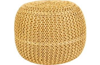 Obsession  POUF EXO 444 lemon 43 x 40 cm
