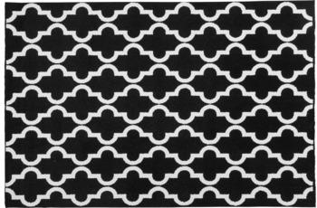 Obsession Teppich schwarz & weiss 391, schwarz