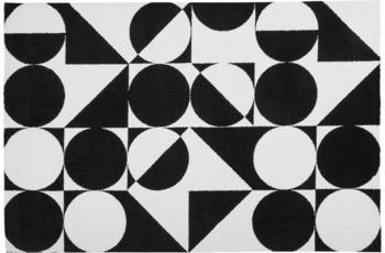 Obsession Teppich schwarz & weiss 392 schwarz-white