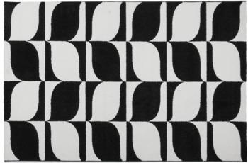 Obsession Teppich schwarz & weiss 393, schwarz-white