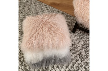Obsession TIBETIAN SHEEP CUSHION 260 powder pink 40 x 40 cm