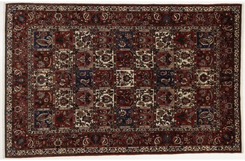 Oriental Collection Bakhtiar Perser Teppich, reine Wolle, 213 x 313 cm