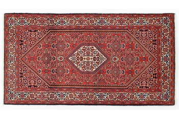 Oriental Collection Bidjar Teppich Sandjan 85 x 163 cm