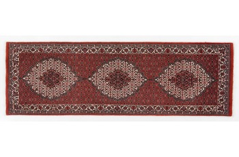 Oriental Collection Bidjar mit Seidenanteil 70 cm x 225 cm