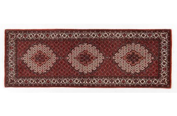 Oriental Collection Bidjar mit Seidenanteil 75 cm x 210 cm