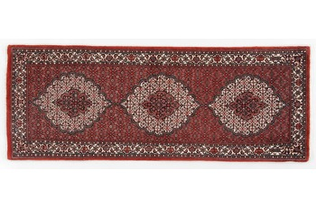 Oriental Collection Bidjar mit Seidenanteil 78 cm x 205 cm