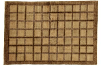 Oriental Collection Gabbeh Teppich FineGab, reine Wolle, handgefertigt, 168 x 246 cm