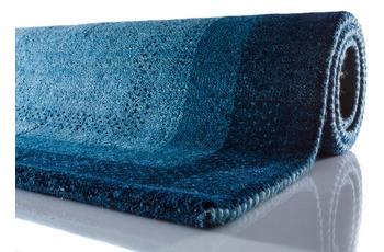 Zaba Gabbeh-Teppich Dallas blau