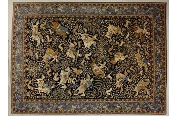 Oriental Collection Ghom blau 75995, 265 x 365 cm