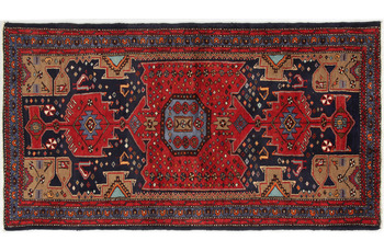 Oriental Collection Hamedan-Teppich Khamseh 120 x 215 cm