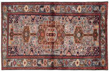 Oriental Collection Hamadan Teppich Khamseh 125 x 200 cm