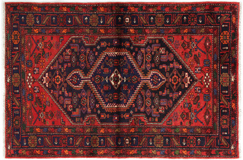 Oriental Collection Hamedan-Teppich Khamseh 135 x 202 cm