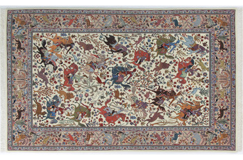 Oriental Collection Ilam-Teppich auf Seide 140 x 223 cm
