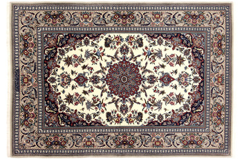 Oriental Collection Isfahan-Teppich auf Seide 132 x 196 cm