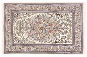Oriental Collection Isfahan-Teppich auf Seide 132 x 208 cm