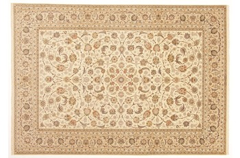 Oriental Collection Isfahan Teppich, Perser, handgeknüpft, 100% Wolle, 252 x 360 cm