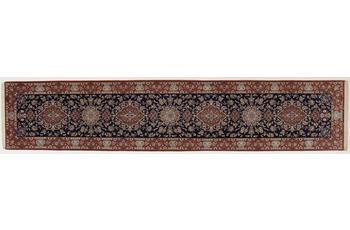 Oriental Collection Isfahan Teppich, reine Wolle, handgeknüpft, 84 x 408 cm