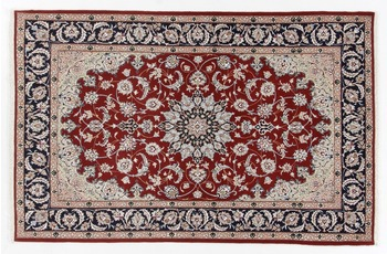 Oriental Collection Isfahan Teppich auf Seide 110 x 170 cm