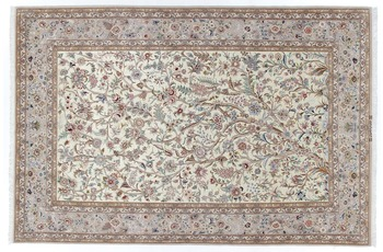Oriental Collection Isfahan Teppich auf Seide 200 cm x 310 cm