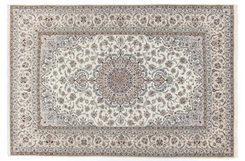 Oriental Collection Isfahan Teppich auf Seide 202 cm x 305 cm