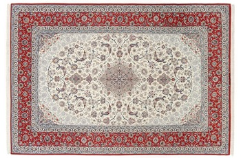 Oriental Collection Isfahan Teppich auf Seide 204 cm x 305 cm