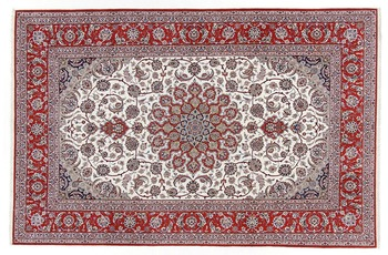 Oriental Collection Isfahan Teppich auf Seide 204 cm x 314 cm
