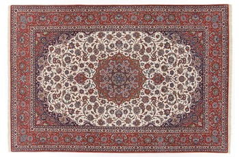 Oriental Collection Isfahan Teppich auf Seide 205 cm x 308 cm