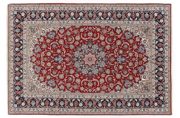 Oriental Collection Isfahan auf Seide 210 cm x 307 cm