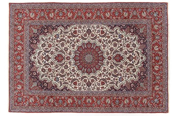 Oriental Collection Isfahan Teppich auf Seide 210 cm x 312 cm
