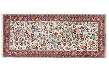 Oriental Collection Isfahan Teppich auf Seide 82 cm x 208 cm