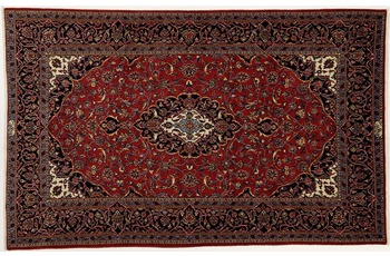 Oriental Collection Kashan Teppich 140 x 222 cm