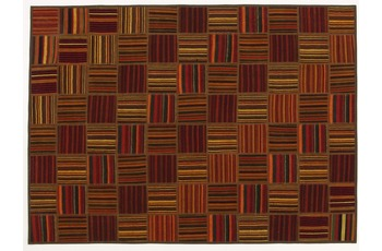 Oriental Collection Kelim Patchwork, 155 x 214 cm, handgewebt