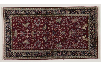 Oriental Collection Kerman Teppich, Perser, handgeknüpft, 70 x 133 cm