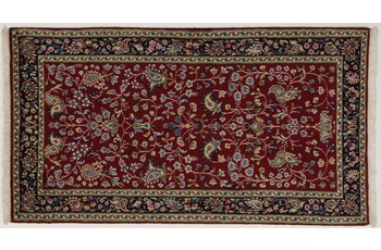 Oriental Collection Teppich, Kerman Region, handgeknüpft, 70 x 130 cm
