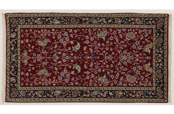 Oriental Collection Perser Teppich, Kerman, reine Wolle, 70 x 130 cm