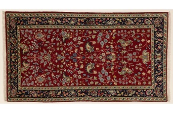 Oriental Collection Teppich, Kerman Region, handgeknüpft, 75 x 130 cm