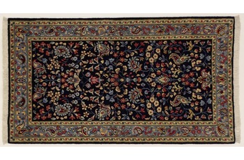 Oriental Collection Perser Teppich, Kerman, reine Wolle, 70 x 125 cm