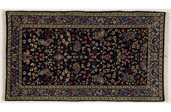 Oriental Collection Kerman Teppich, reine Wolle, handgeknüpft, 75 x 125 cm