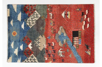 Oriental Collection Gabbeh-Teppich Loribaft 100 cm x 147 cm
