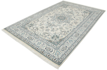 Oriental Collection Nain-Teppich Medallion hell 199 x 297 cm