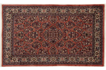 Oriental Collection Sarough Teppich, handgeknüpft, Perser, 160 x 265 cm
