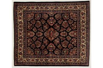 Oriental Collection Teppich, Sarough, Perser-Teppich, handgeknüpft, reine Schurwolle, florale Ornamentik, 211 x 250 cm