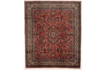 Oriental Collection Teppich, Sarough, Perser-Teppich, handgeknüpft, reine Schurwolle, florale Ornamentik, 217 x 258 cm