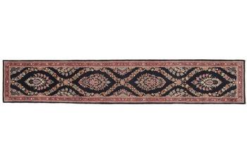 Oriental Collection Teppich, Sarough, Perser-Teppich, handgeknüpft, reine Schurwolle, florale Ornamentik, 70 x 390 cm